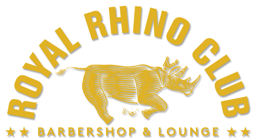 Welcome to the Royal Rhino Club Barbershop and Lounge